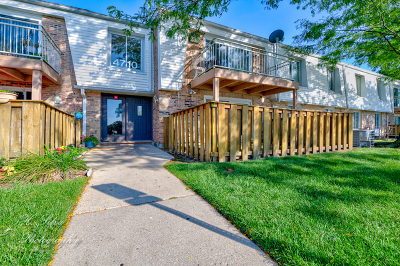 Cook County Condo/Townhouse New: 4710 Euclid Avenue #1D