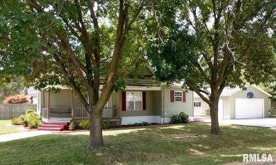 Virden Single Family Home For Sale: 501 S Dye