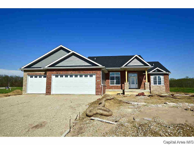 Chatham Single Family Home For Sale: 1820 Spartan Dr
