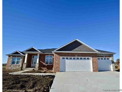 Chatham Single Family Home For Sale: 1831 Spartan Dr