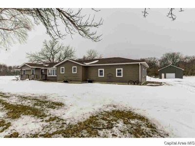 Petersburg Single Family Home For Sale: 20703 Stewart