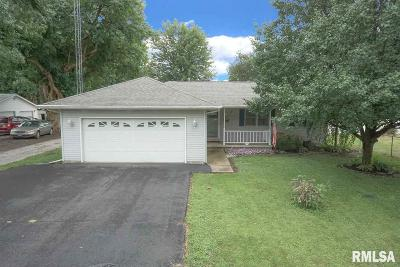 Virden Single Family Home For Sale: 450 W Hill