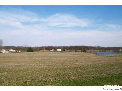 Girard Residential Lots & Land For Sale: Carlinville Cutoff