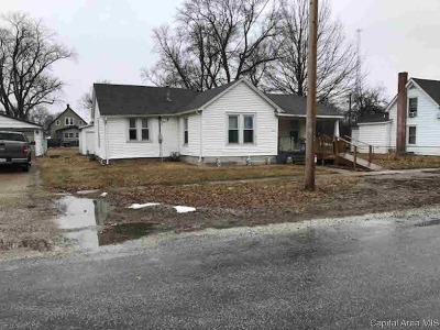 Pleasant Plains Single Family Home For Sale: 313 E 3rd