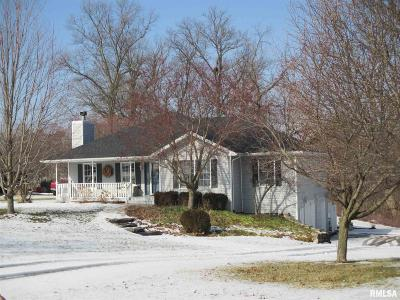 Petersburg Single Family Home For Sale: 17277 Woodland Lakes