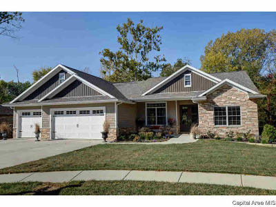 Springfield Single Family Home For Sale: 509 Poinsettia Place