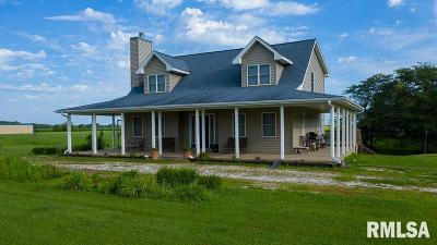 Mt. Sterling, Arenzville, Virginia, Chapin, Concord, Franklin, Jacksonville, Literberry, Meredosia, Murrayville, Waverly, Woodson, Winchester Single Family Home For Sale: 2525 Durbin Ln