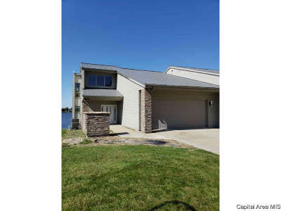 Sangamon County Single Family Home For Sale: 309 Harbor Point Pl