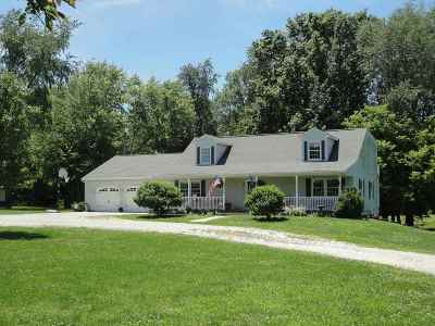 Taylorville Single Family Home For Sale: 1607 S Shumway