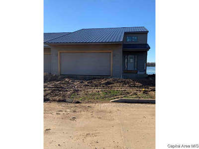 Sangamon County Single Family Home For Sale: 307 Harbor Point Pl