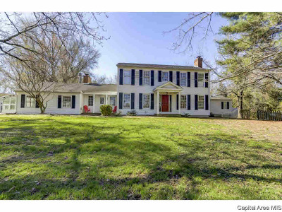 Chatham Single Family Home For Sale: 9750 Old Indian Trail