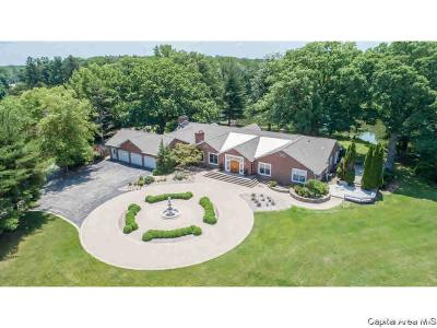 Springfield Single Family Home For Sale: 3189 Spaulding Orchard Rd