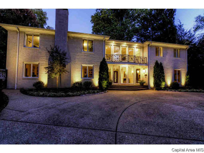Springfield Single Family Home For Sale: 2100 S Illini Rd