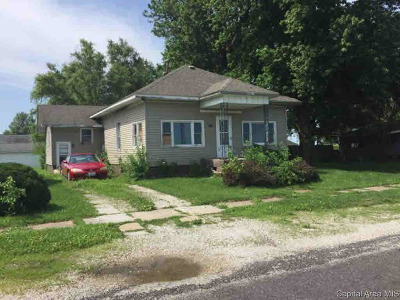 Tovey IL Single Family Home For Sale: $32,479
