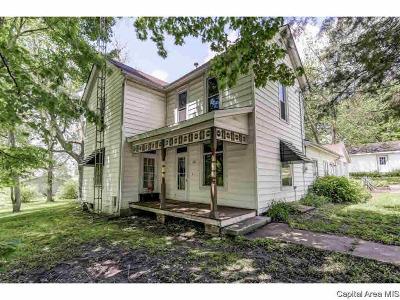 Pleasant Plains Single Family Home For Sale: 401 W Main