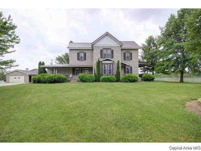 Chatham Single Family Home For Sale: 7030 Mansion Rd