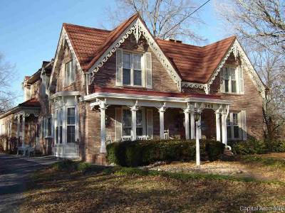 Carlinville Single Family Home For Sale: 346 College Ave