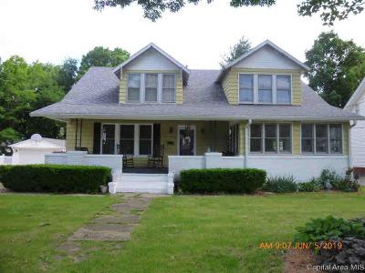 Jacksonville Single Family Home For Sale: 240 E Vandalia