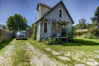 Taylorville Single Family Home For Sale: 404 E Park