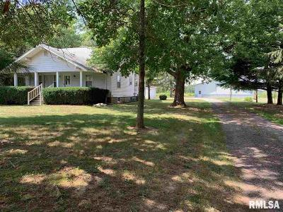 Pleasant Plains Single Family Home For Sale: 5545 Stagecoach