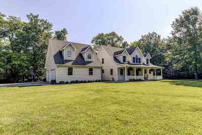 Petersburg Single Family Home For Sale: 19182 Timberline