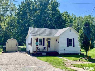 Pleasant Plains Single Family Home For Sale: 400 W Main