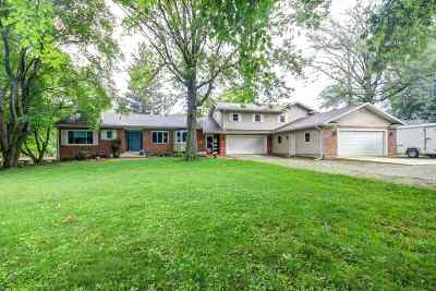 Sangamon County Single Family Home For Sale: 34 N Fox Mill