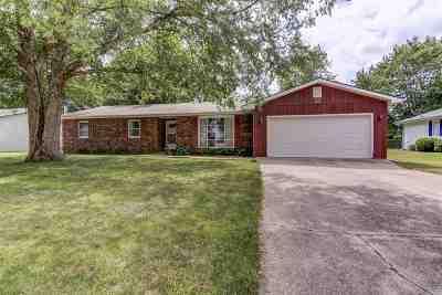 Pawnee Single Family Home For Sale: 22 Brenda