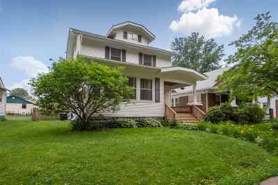 Davenport IA Single Family Home For Sale: $163,900