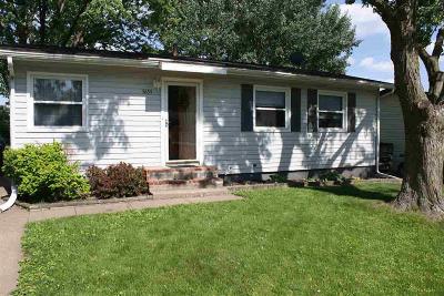 Davenport IA Single Family Home For Sale: $129,900