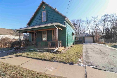 Davenport IA Single Family Home For Sale: $49,900