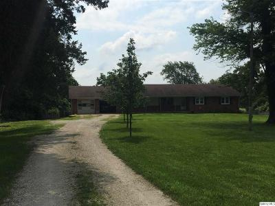 Rushville IL Single Family Home For Sale: $149,900