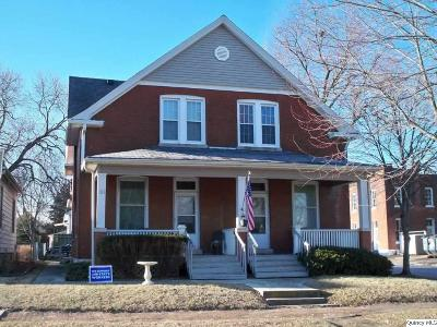 Quincy IL Multi Family Home For Sale: $92,500