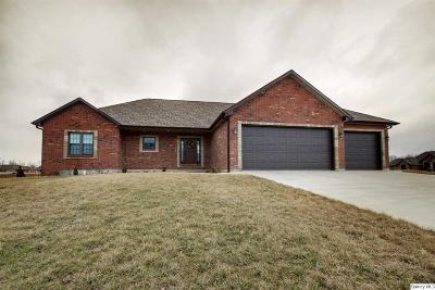 Quincy IL Single Family Home For Sale: $345,900