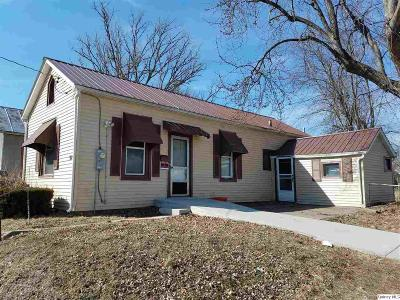 Quincy IL Single Family Home For Sale: $35,900