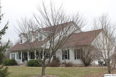 Quincy IL Single Family Home For Sale: $328,000