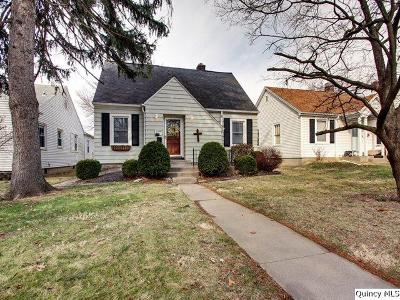 Quincy Single Family Home For Sale: 1108 S 22nd