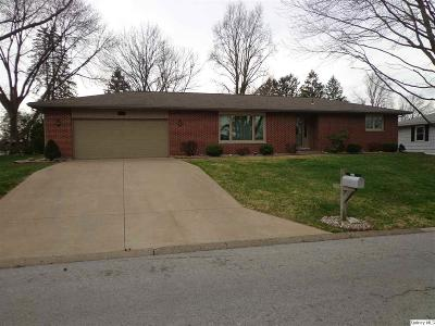Quincy IL Single Family Home Contingent - Show: $159,500