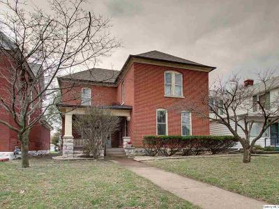 Quincy IL Single Family Home For Sale: $109,000