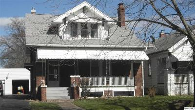 Quincy IL Single Family Home For Sale: $72,500