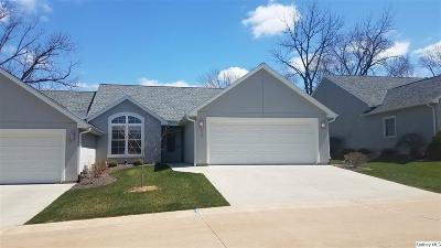 Quincy IL Single Family Home For Sale: $186,500