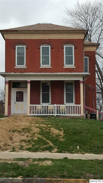 Quincy IL Multi Family Home For Sale: $45,000