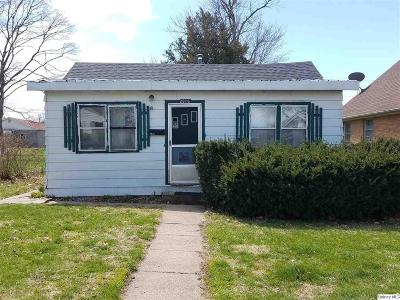 Quincy IL Single Family Home For Sale: $40,000