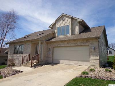 Quincy IL Single Family Home For Sale: $249,900