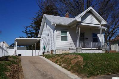 Quincy IL Single Family Home For Sale: $73,500