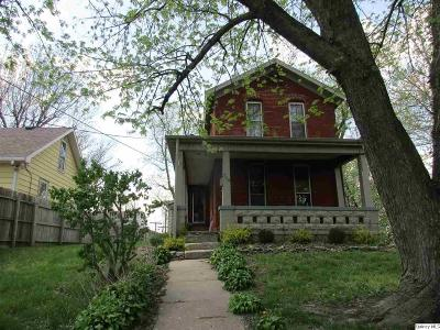 Quincy IL Single Family Home For Sale: $32,500