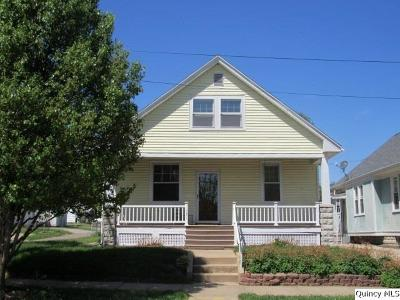 Quincy IL Single Family Home For Sale: $112,000