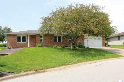 Quincy IL Single Family Home For Sale: $195,000