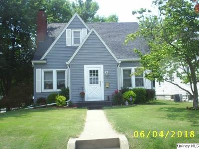 Quincy IL Single Family Home For Sale: $149,900
