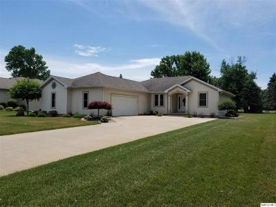 Quincy IL Single Family Home For Sale: $235,000